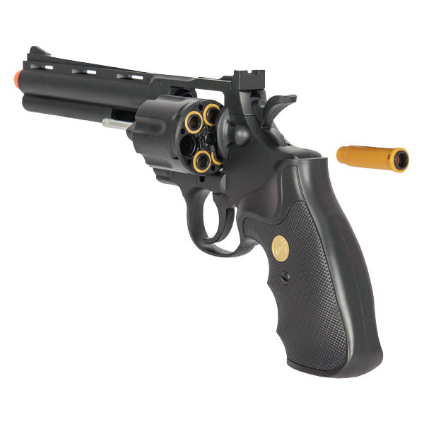G36B Spring Powered Airsoft Revolver Black