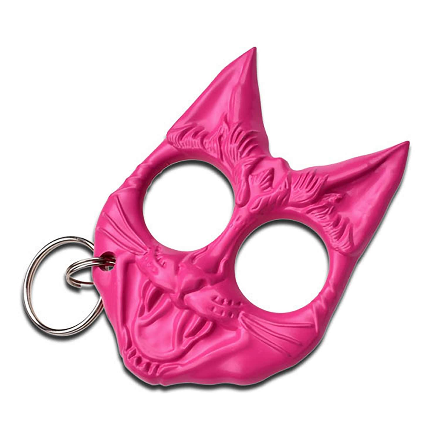 Wild Cat Self Defense Keychain Pink