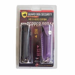 2-Pack His & Hers Personal Defense Keychain Pepper Sprays