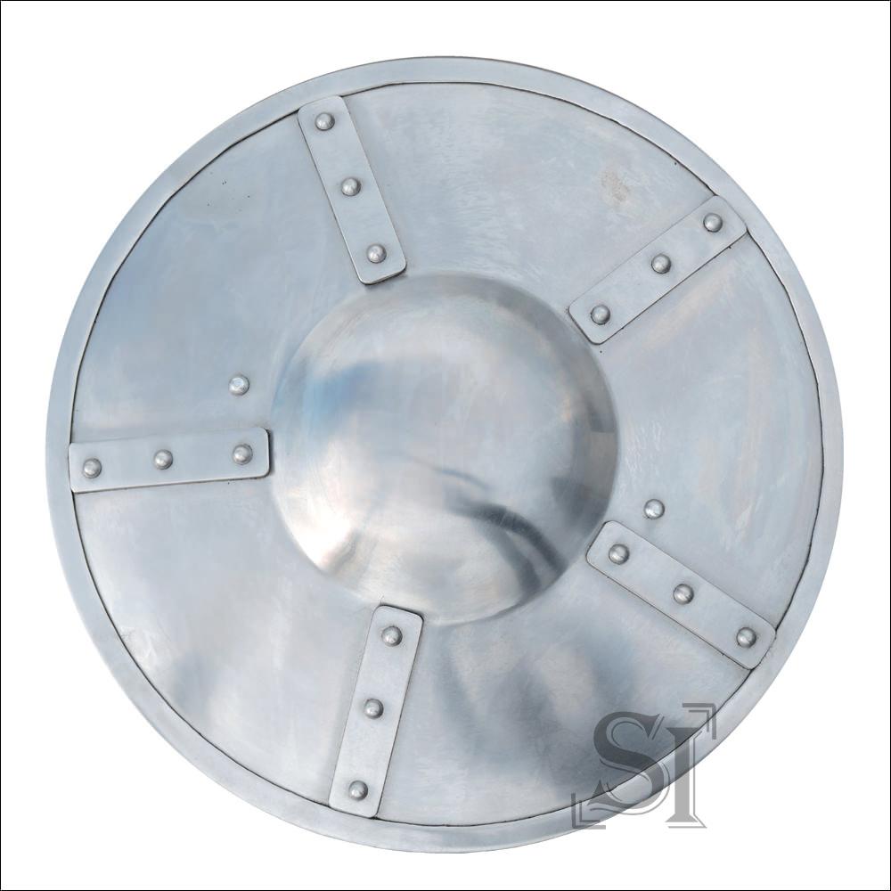 Polished Medieval Buckler Shield