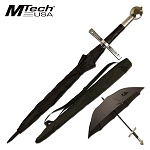 Mtech Outdoor Umbrella Black Long Sword Handle