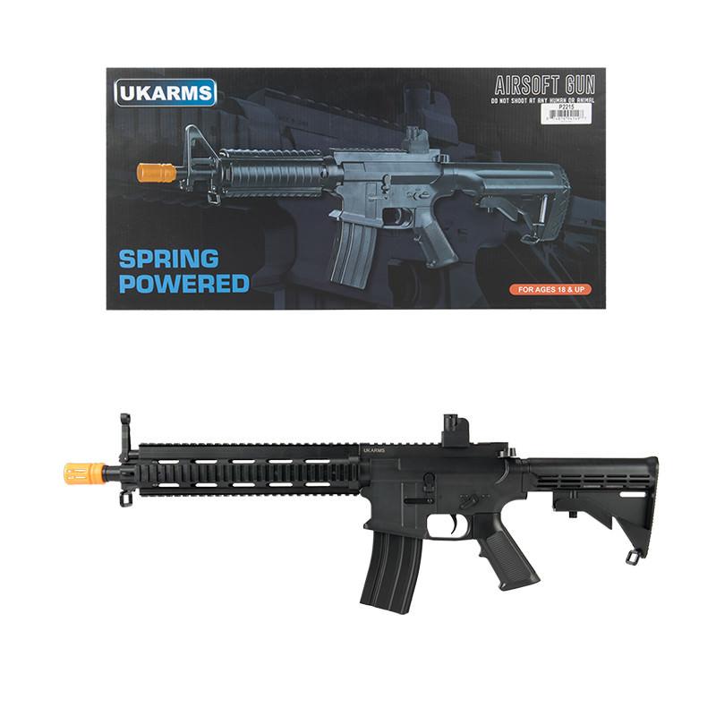 P2215 M4 Quad Monolithic RIS Spring Airsoft Rifle