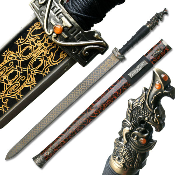 Sun Quan Red Cliff Movie Replica Chinese Jian Sword W ...