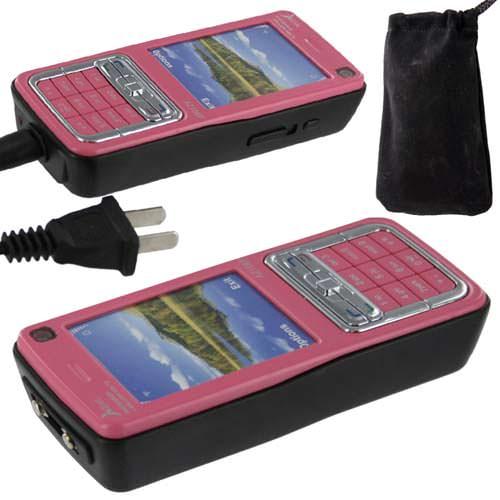 Stun Gun Pretender CELL PHONE 1 Million Volt Pink