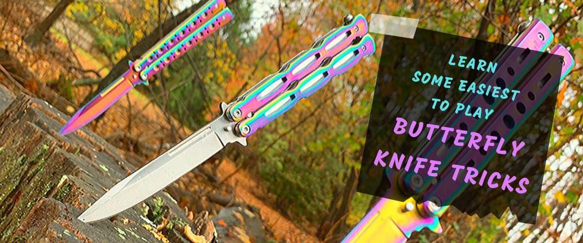 easy butterfly knife tricks