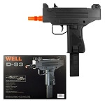 Well D93 Airsoft Uzi Style Auto Electric Pistol
