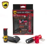 Electra 3 Million Volt Lipstick Stun Gun + 1/2 Ounce Twist Top Pepper Spray