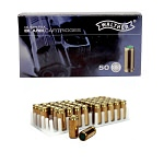 50 Rounds 9mm P.A.K. Blanks Steel Case, For Full & Semi-Auto Pistols