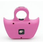 Mini Jogger Pink Sting Ring Self Defense Rechargeable Stun Gun