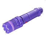 Purple Max Power Stun Gun 10 Million Volt Rechargeable LED Flashlight New!