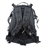 Large 600D Polyester 3D Outdoor Backpack Black