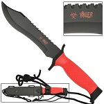 12 Inches Red Survival Bowie Knife