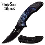 Dark Side Blades Blue Dragon Spring Assist Folding Knife