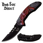 Dark Side Blades Red Dragon Spring Assist Folding Knife