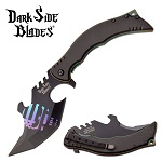 Dark Side Blades Spring Assisted Knife Rainbow Punisher
