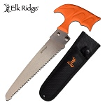 Hunting Survival Outdoor Camping Fixed Blade Axe With Orange Handle