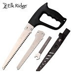 Elk Ridge Outdoor Camping Hand Saw Black Handle