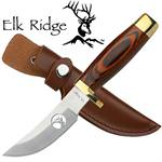 Elk Ridge Wood Handle Hunting Knife
