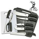 9 PC Big Game Cutlery Kit W/ Case