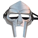 MF Doom Rapper Madvillain Gladiator Mask