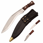 Indian Gurkha Full Tang Kukri Regimental Knife