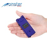 8,000,000 Rechargeable Ultra Mini Stun Gun With LED Light Purple
