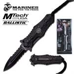 Mtech Ballistic US Marines The Few The Proud Spring Assisted Folding Knife