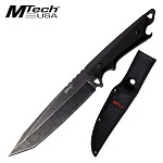 Mtech 6.25'' Full Tang Stonewash Tanto Blade With Nylon Sheath
