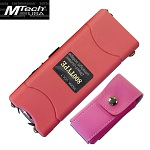Mtech 3.5 Million Volt Rechargeable Stun Gun with LED Pink