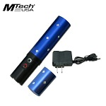 Mtech 3.8 Million High Voltage Lipstick Stun Gun Blue With Charger