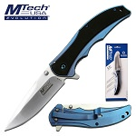 Manual Folding Knife Drop Point Blade Pocket Knife in Clamshell