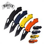 Master USA Spring Assisted Folding Pocket Knife 12 Pcs Assorted