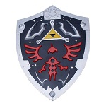 Dark Links Hylian Zelda Triforce Metal All Steel Shield Full Size