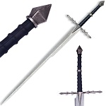 Fantasy Nazgul Replica Sword With Wall Plaque