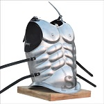 Medieval Roman Greek Muscle Body Armor Polished