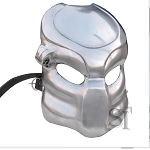 Fantasy Predator Warrior Battle Mask 18G Steel Helmet