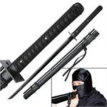 Ninja Sword with Attached Blowgun - 41 Inch Overall