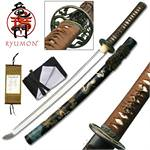 Ryumon Dragon Katana Hand Forged Wakizashi Sword