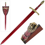 Red Oathkeeper Fantasy Sword Of Heroes