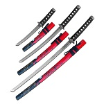 Dragon Samurai Sword Red Scabbard 37 Inch Katana