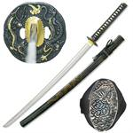 Full Tang Dragon Samurai Handmade Functional Sword