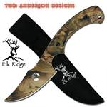 8 Inch Overall Skinner Knife All Camo