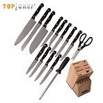 Top Chef Classic 15 Piece Block Kitchen Knife Set