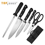 Top Chef Premier 6 Piece Carrying Case Kitchen Knife Set