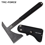 USA Flag Tactical Tomahawk Axe Full Tang Hatchet Stonewashed