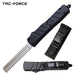 Automatic Beard Comb Out the Front Black Tactical Handle
