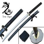 Reverse Blade Hand Forged Samurai Katana Sword with Scabbard