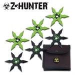 6 pc 6 Point Stainless Steel Throwing Stars