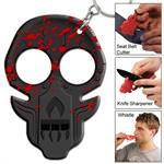 Zombie Uprising Blood Splatter Emergency Key Chain