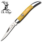 Elk Ridge Toothpick Knife - Yellow